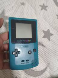 Nintendo Game boy color com 3 jogos