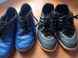 2 Chuteiras de Futsal