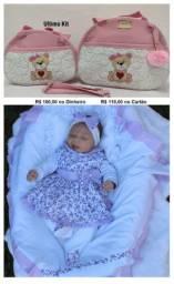 Kit Econômico Bolsa Mais Saída de Maternidade Meninas