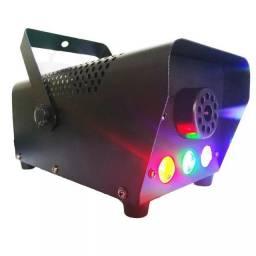 Máquina de Fumaça 60o w com leds RGB