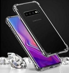 Capinha Antishock Anti Impacto Transparente - Samsung Galaxy S10