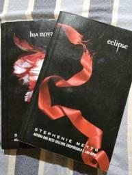 Livros Lua Nova e Eclipse