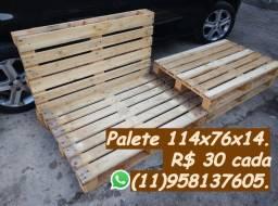 Palete de madeira 114x76 entrego