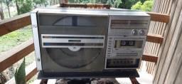 Título do anúncio: Sharp sg 5000 toca discos antigo