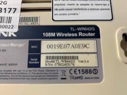 Roteador Tp Link TL-wr642g