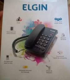 Telefone com fio novo
