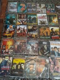 170 DVDs.  40 reais