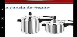 Grande promoção da panela de pressão 4.5 litros valor 50.00 cada