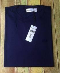 Camisa lacoste azul