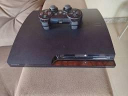 Playstation 3 com 5 jogos