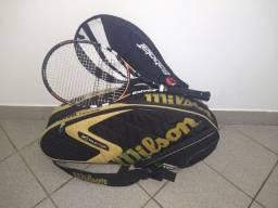 Bolsa mais raquete tênis