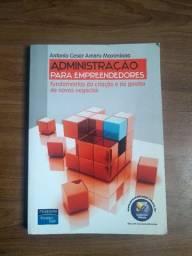 Livro - Administração Para Empreendedores - Antônio César Amaru Maximiano