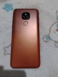 Título do anúncio: Vendo ou troco com volta pra mim celular Motorola E7 plus 64 gigas de memória