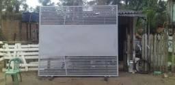 Fabricação reforma e pintura de portões grades