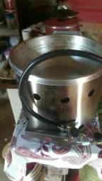 Fritadeira de batata a gás
