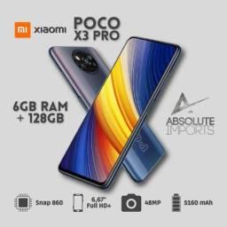 Poco X3 Pró, 6Gb e 128Gb 12x sem Juros