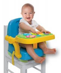 Assento Cadeira de Alimentação  Portatil Com Mesa Musical - Winfun