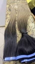 Cabelo humano ombro hair 60cm