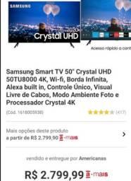 "Samsung Smart Tv 50"" Crystal UHD"