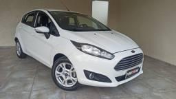 New Fiesta 2017 Hatch SEL 1.6 automático flex baixa km