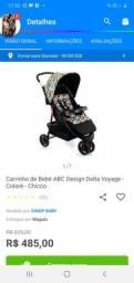 Carrinho de bebê ABC Delta Voyage - Chicco
