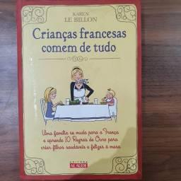 """Título do anúncio: Livro """"Crianças francesas comem de tudo""""."""