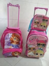 2 mochilas 1 lancheira