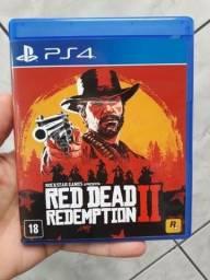 Título do anúncio: Red Dead Redemption 2 para PS4 (Perfeito Estado)