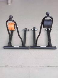 Dois Rolos de Bicicleta exercicle - Metal LinI - Nao envio