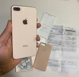 iPhone 8 Plus 64gb Rosé / Aceito trocas apenas em iphones.