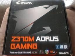 Título do anúncio: Placa mãe Z370m Aorus Gaming