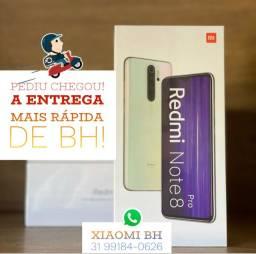 A MENOR TAXA do MERCADO! Xiaomi NOTE 8 PRO 128GB / Novo Lacrado Garantia / GLOBAL