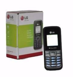 Celular Lg B220 Azul E Preto Dual Chip, Rádio Fm (Entrega grátis)