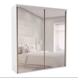 Guarda-roupa espelho inteiro  (ACEITA CARTÃO)