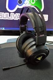 Headset Gamer Razer Nari Wireless (Sem fio) Preto para PC, PS4, Xbox