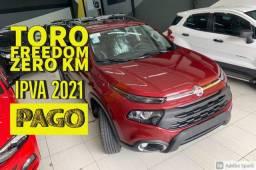 Fiat Toro Freedom 2021 Zero KM Ipva Pago