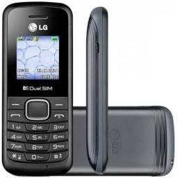 Celular Dual Chip Preto LG-B220 (Entrega gratis)