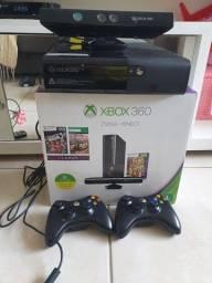 Vende-se xbox 360, pouco usado, 2 controles e jogos.