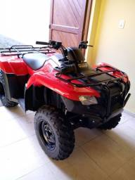 Vendo quadriciclo Honda fourtrax 21/21, zero km