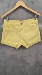 Título do anúncio: Short Jeans Amarelo