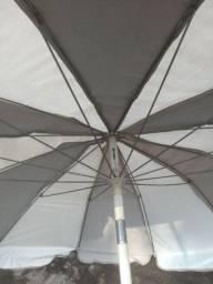 Título do anúncio: Guarda Sol de piscina manivela 2.8 de diâmetro ZAP *