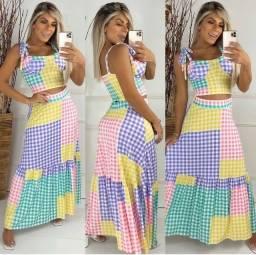 Conjunto Fashion Xadrez