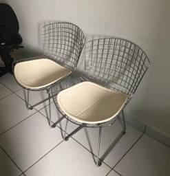 Cadeiras Bertoia (conjunto)