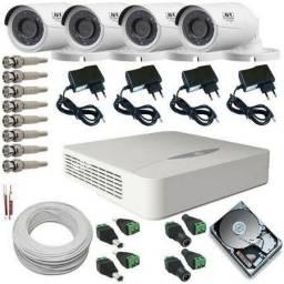 kit completo câmera de segurança