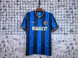 Nova Camisa De Futebol Time Inter de Milão da Itália Oferta Promoção do Dia Barato