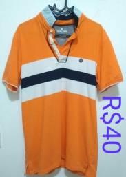 Duas camisas Pólos por R$50.