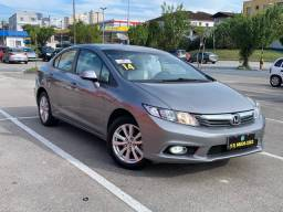 Título do anúncio: Honda Civic LXS 2014 Completo - km baixo