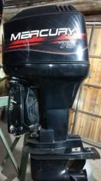 Motor Mercury 75 2T - 2001