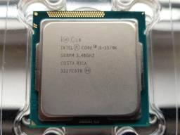 Processador I5 3570k 3.4ghz + Gigabyte H61m