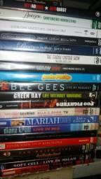 Dvds originais pop,rock,mpb,forró 10 cada